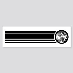Retro Welder Bumper Sticker